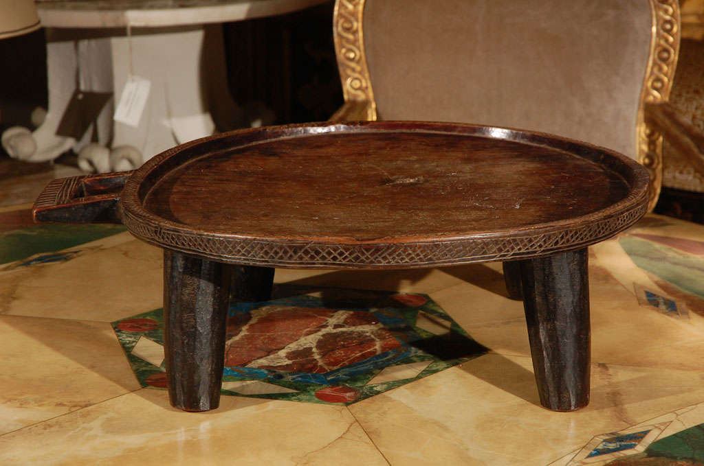 C 1910 Ethiopian Serving Tray At 1stdibs