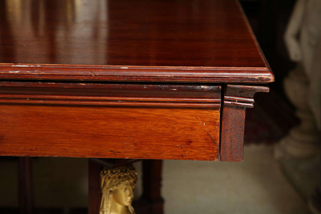 Empire Style Dining Room Table For Sale 1