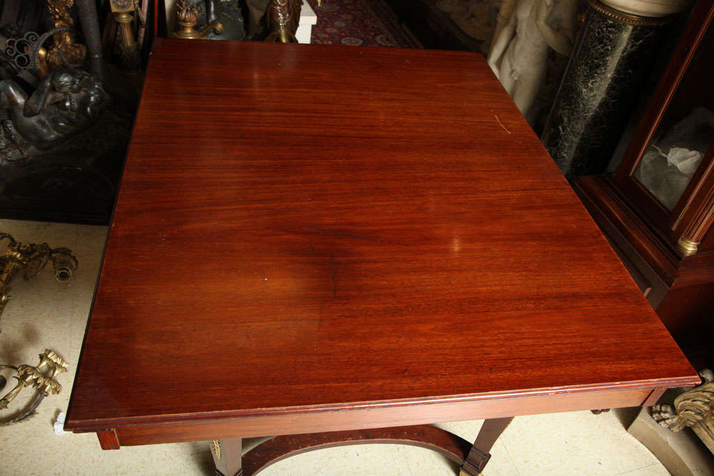 Empire Style Dining Room Table For Sale 2