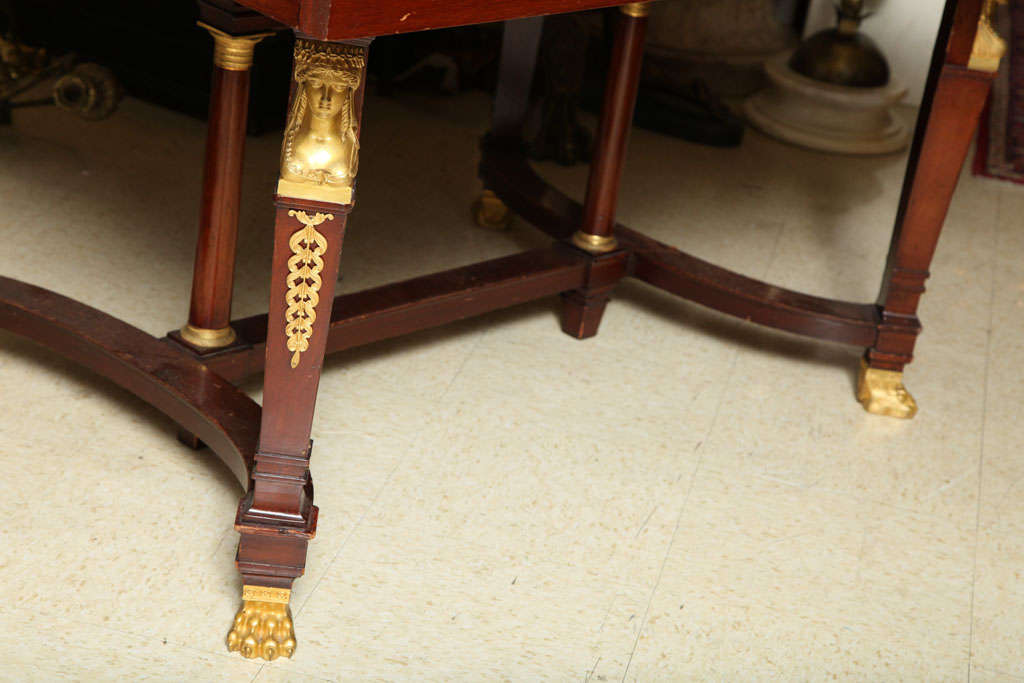 Empire Style Dining Room Table For Sale 3