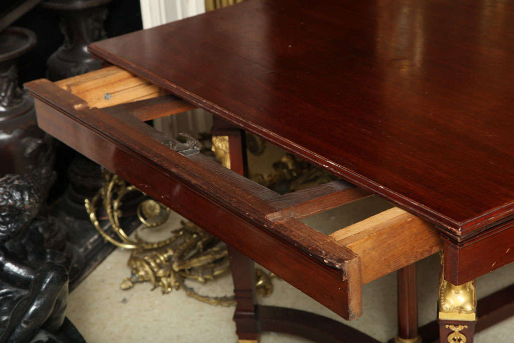 Empire Style Dining Room Table For Sale 4