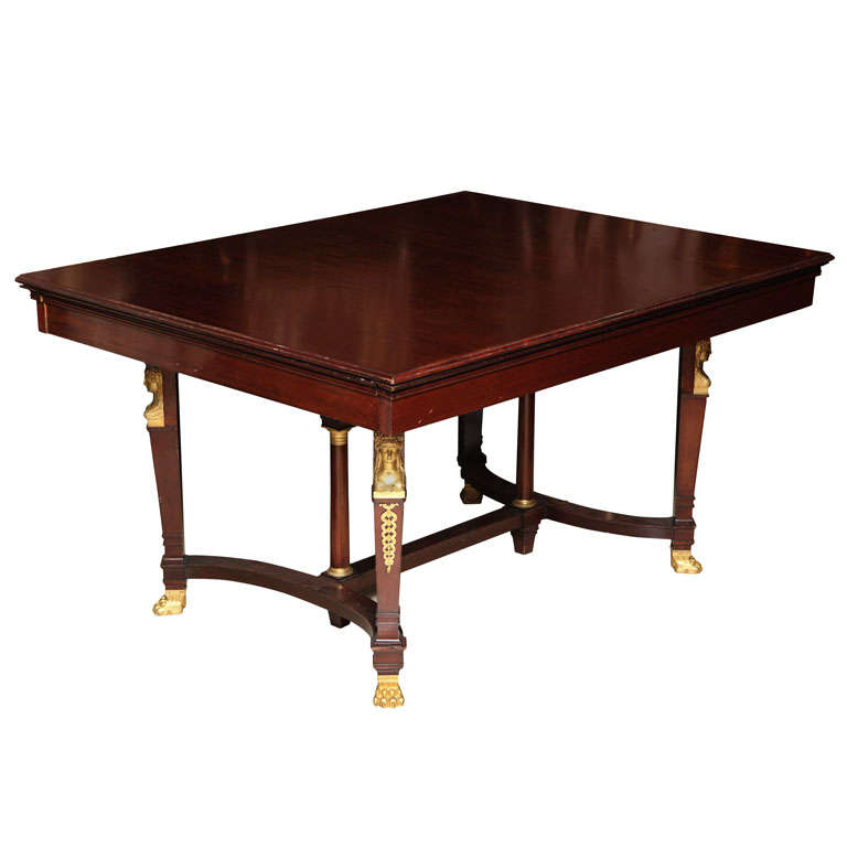Empire Style Dining Room Table 1