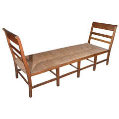 French Directoire Bench