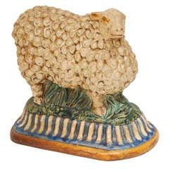 Majolica Style Sheep