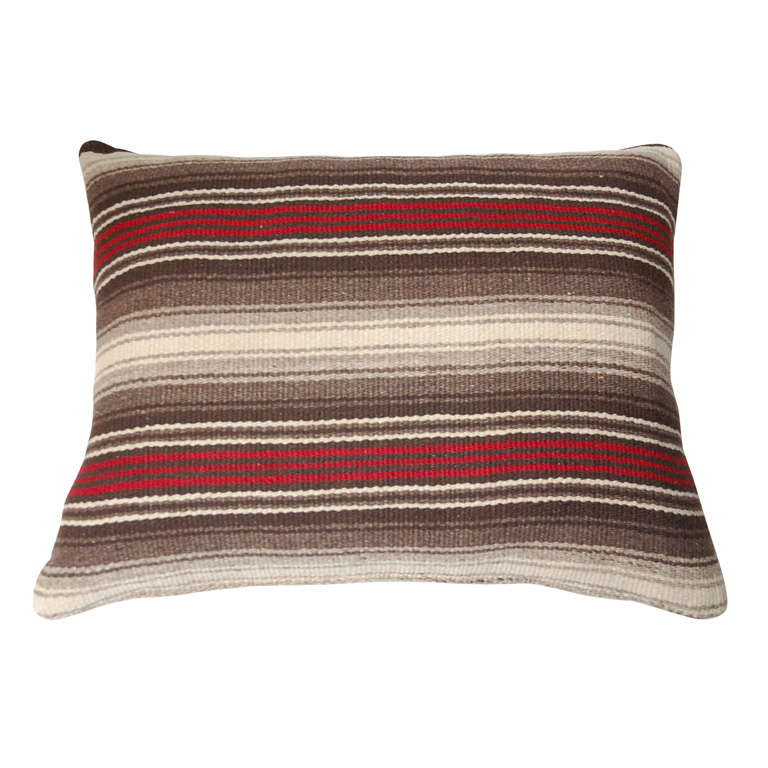 Traditional Indian Horse Blanket Pillow at 1stdibs
