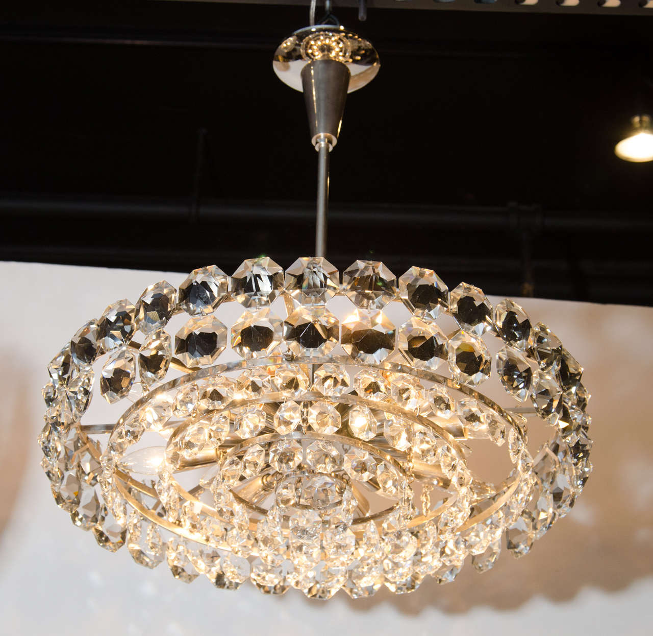 my img crystal light black finish drum product home marquis up chandelier