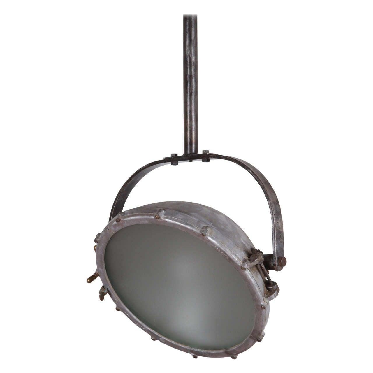 Industrial Steel Lighting Fixture