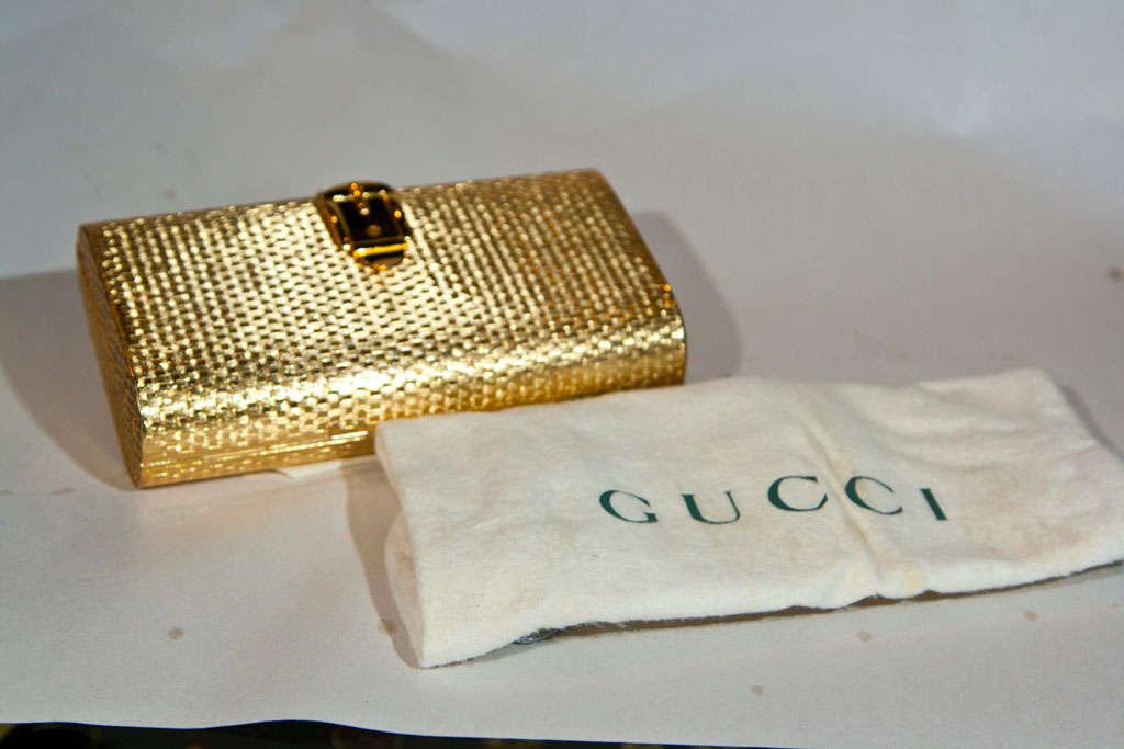 Gucci Enamel Racing Stripe Minaudiere 5