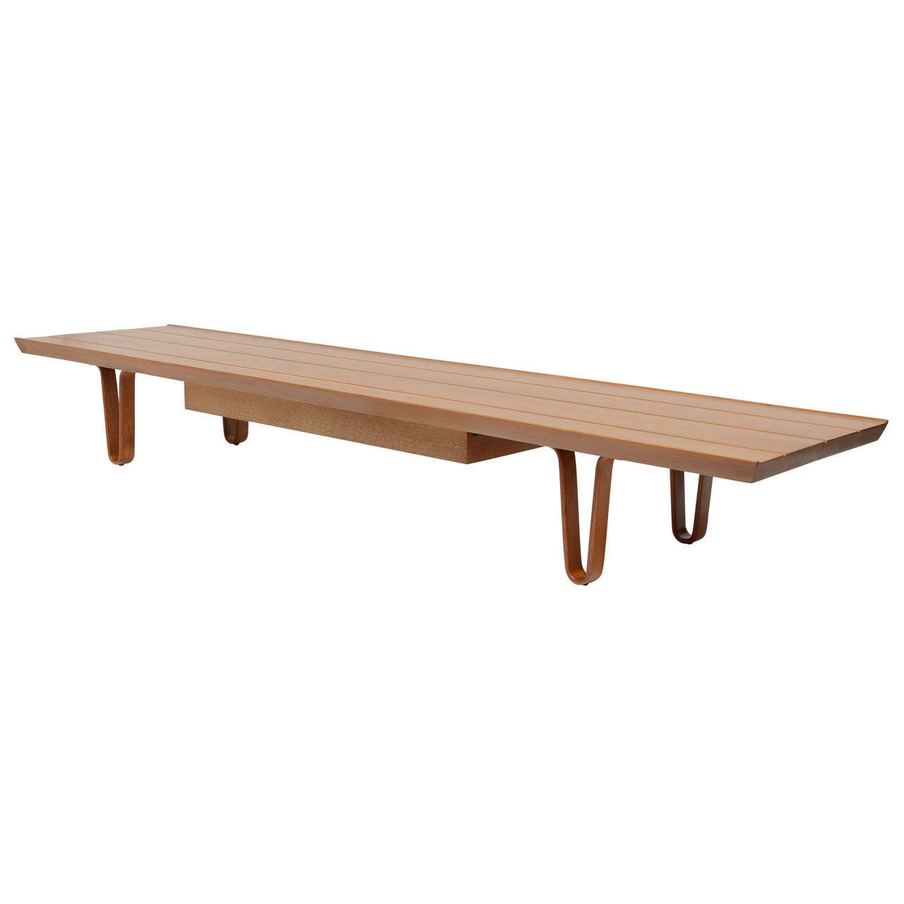 Edward Wormley Long John Bench Table At 1stdibs