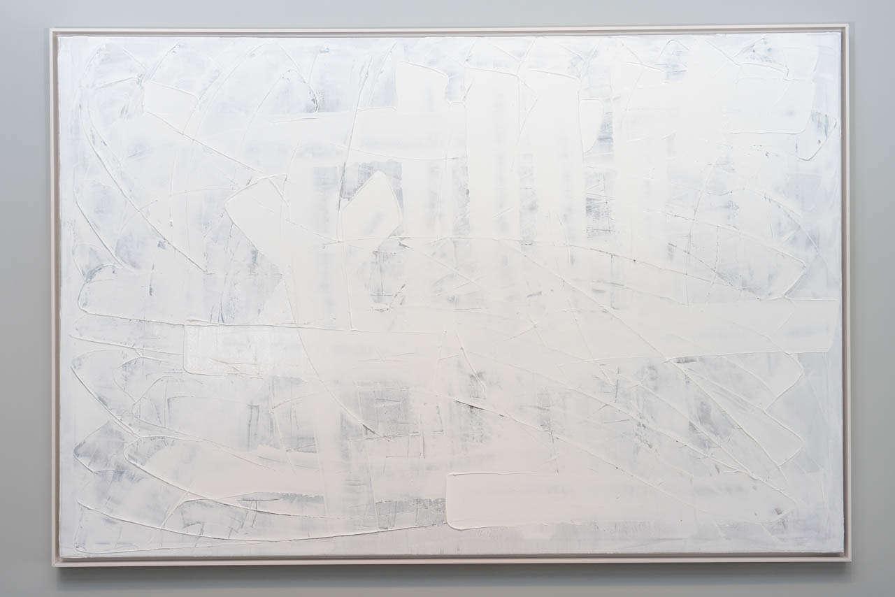 Original oil on canvas, Inner Peace series, 2014, by renowned artist Renato Freitas.