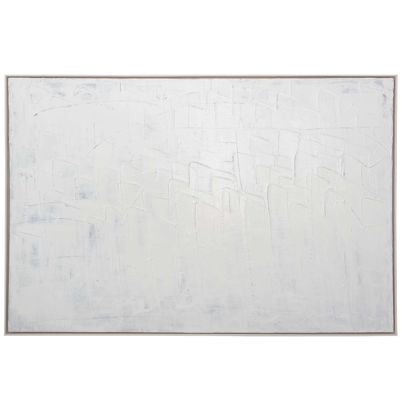 Abstract Expressionist Oil on Canvas, Renato Freitas For Sale