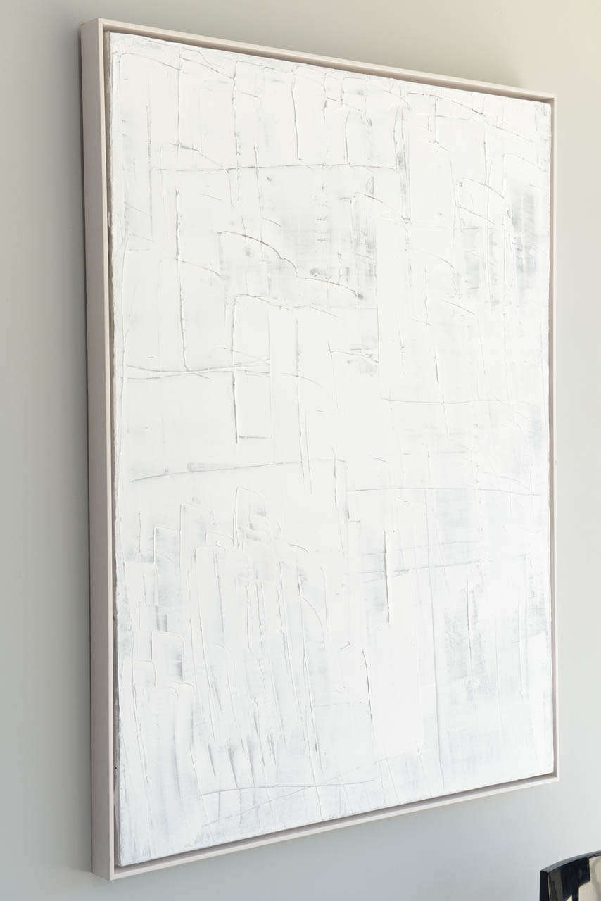Original oil on canvas, Inner Peace series, 2014 by renowned artist Renato Freitas.