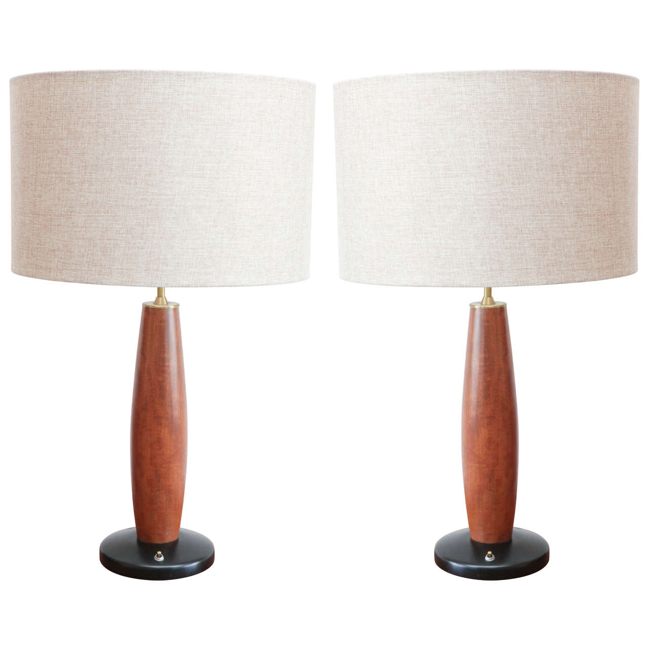 mid century modern table lamps at 1stdibs. Black Bedroom Furniture Sets. Home Design Ideas
