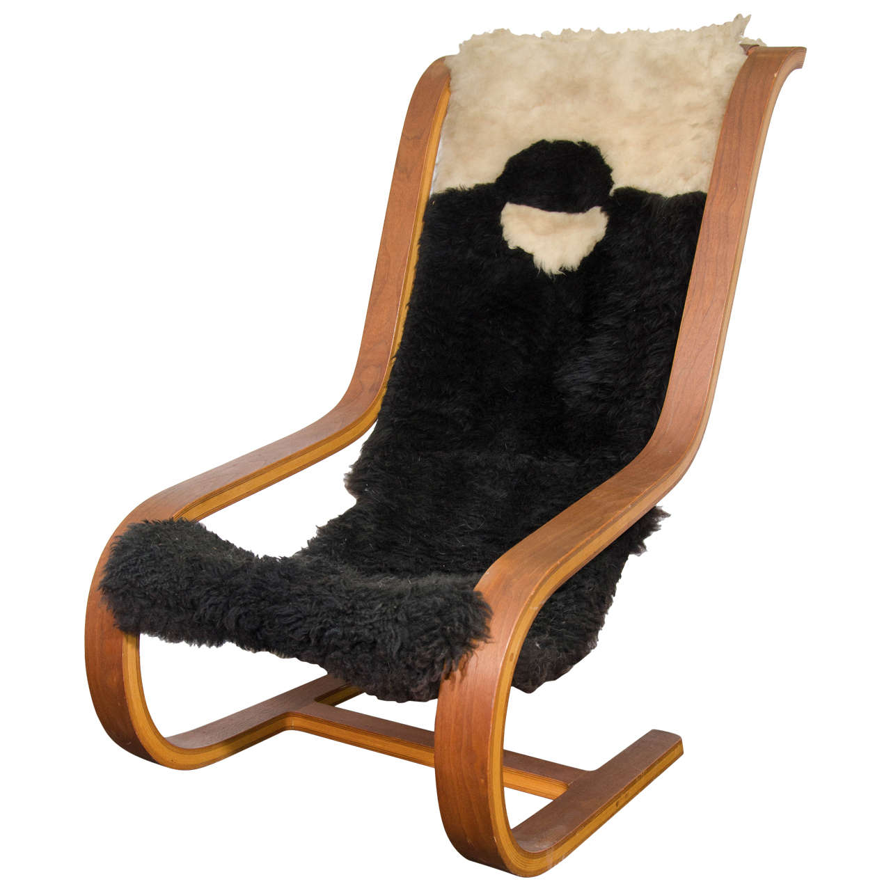 Sheepskin Butterfly Chair