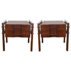 A Pair of Edmond Spence End and Side Tables