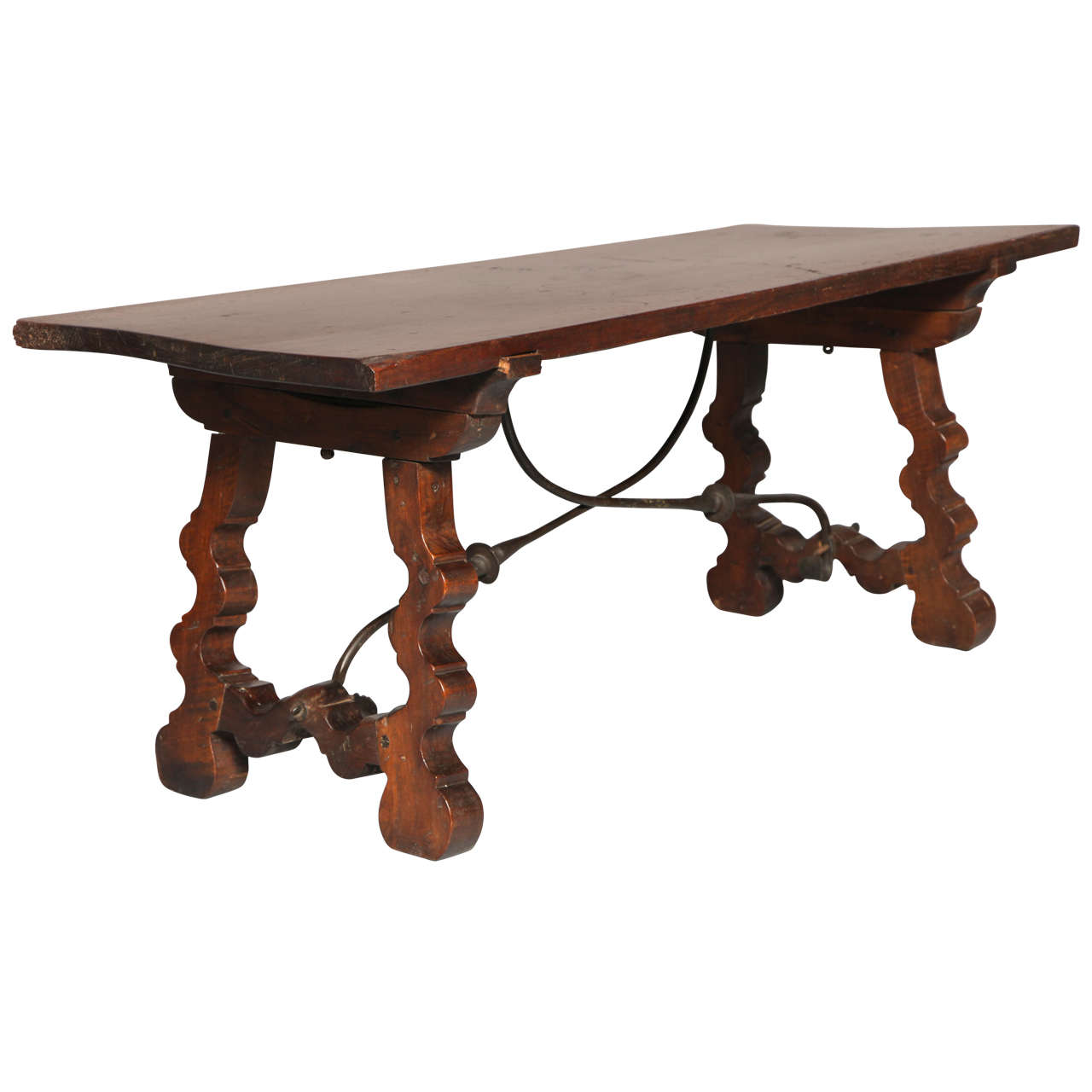 Spanish Baroque Walnut Low Table At 1stdibs