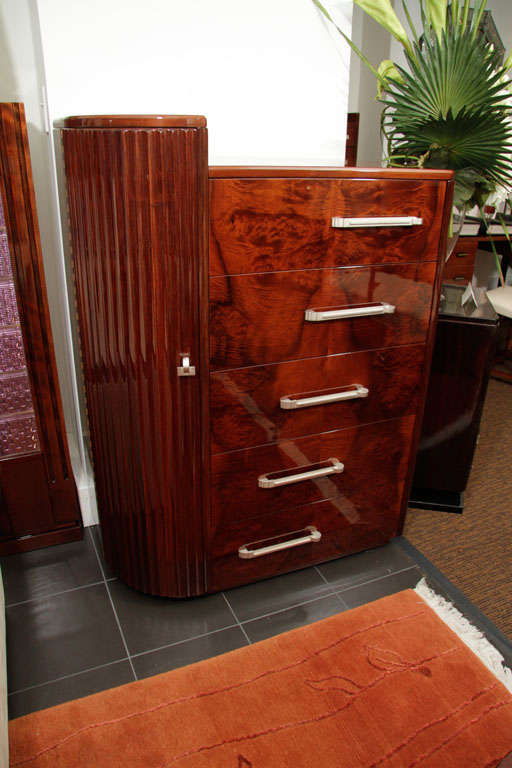 High Chest of Drawers For Sale 4
