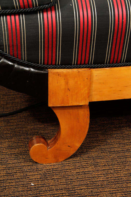 Biedermeier Sofa In Good Condition For Sale In Pompano Beach, FL