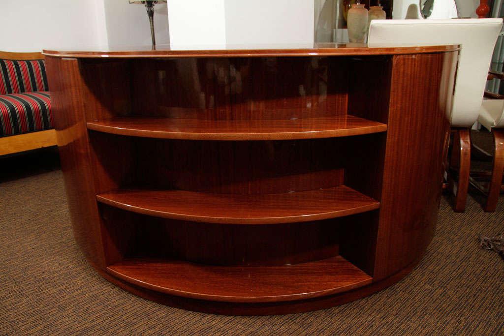 Machine age american streamline desk at 1stdibs Badcock home furniture more pompano beach fl