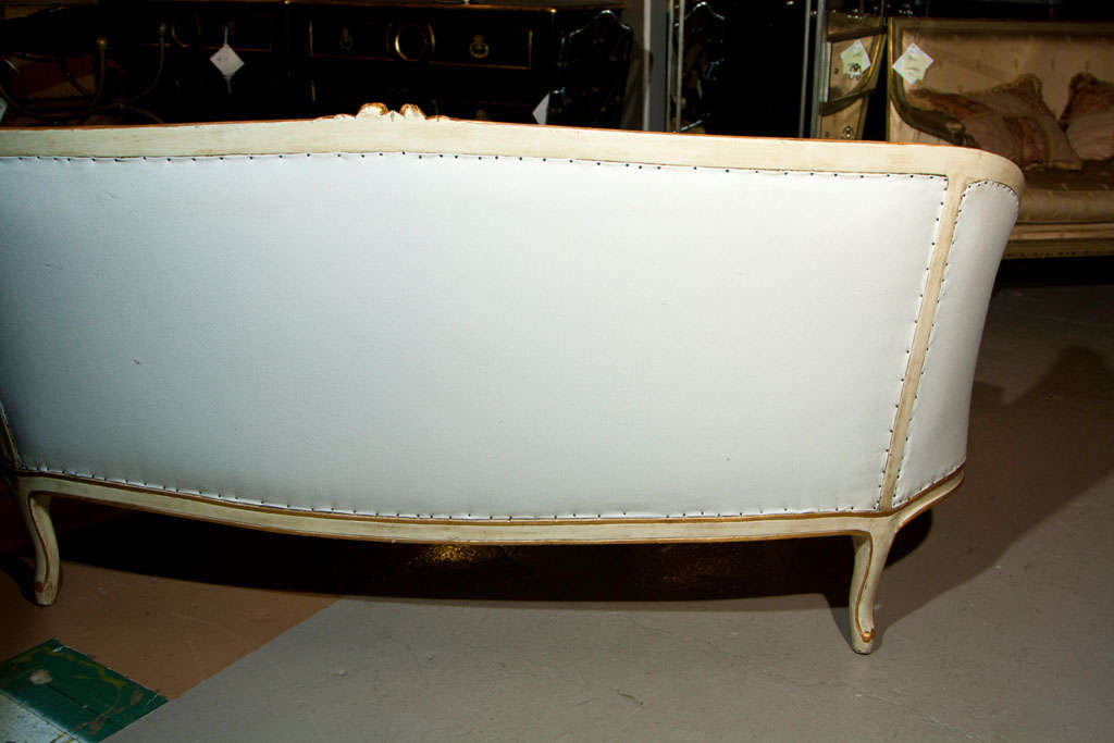French Louis XV Style Sofa by Jansen 9