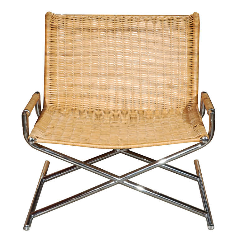 Ward Bennett for Brickell Sled Chair at 1stdibs