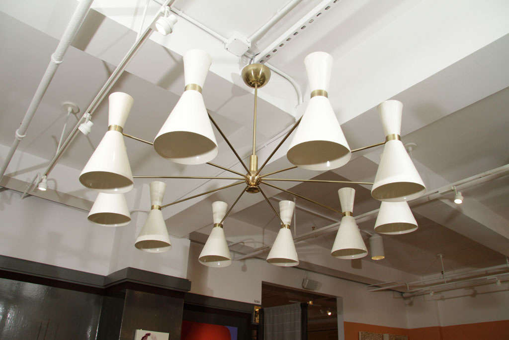 Stilnovo Style Chandeliers For Sale 1
