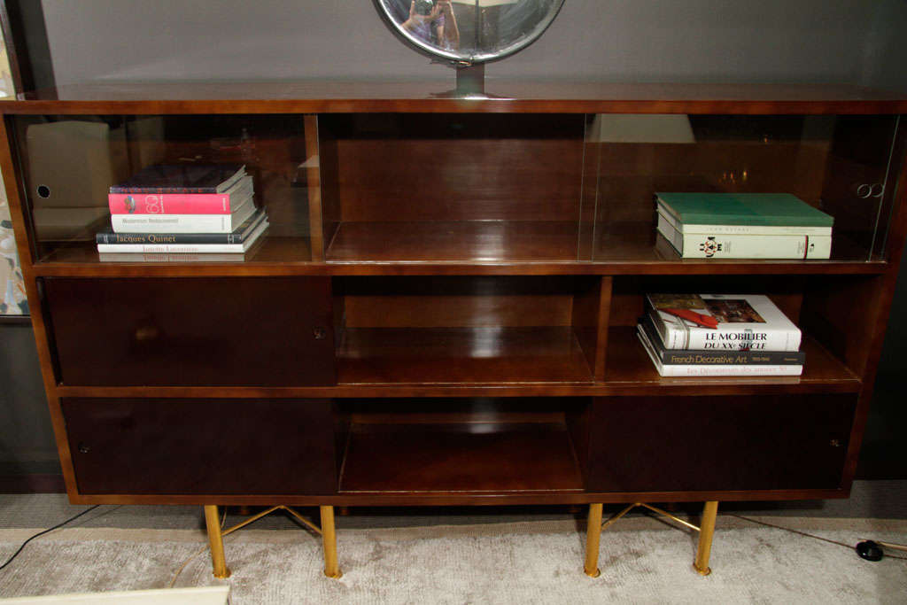 Lacquer Bookcase by Raphael For Sale