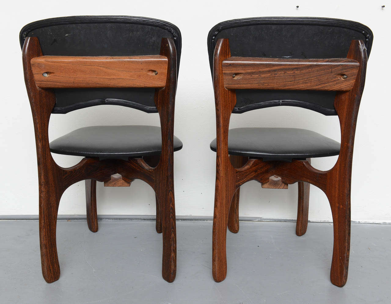 1970s Rosewood Chairs by Don Shoemaker, Mexico For Sale 1