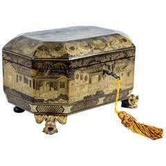 19th Century Chinese Lacquered Box