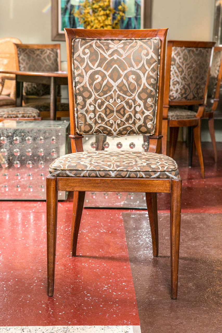 Set Of Four Mid Century Modern Rosewood Dining Chairs For Sale At 1stdibs