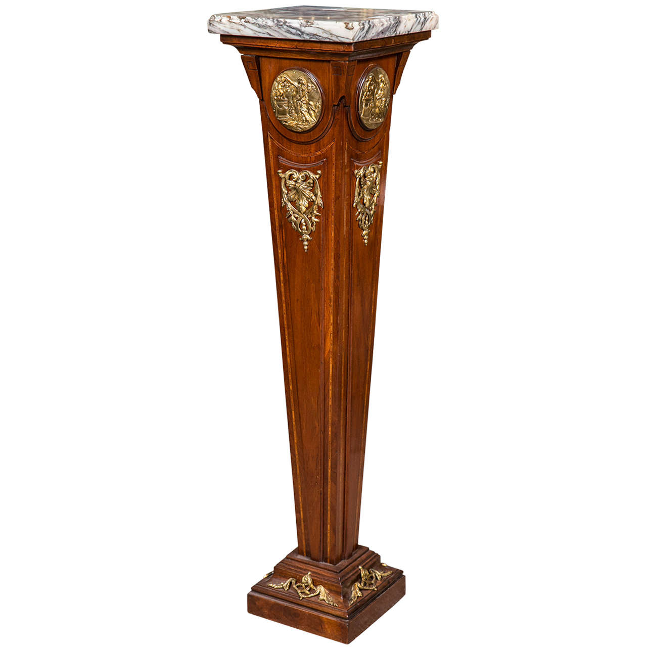 French empire style mahogany pedestal stand at 1stdibs french empire style mahogany pedestal stand for sale reviewsmspy