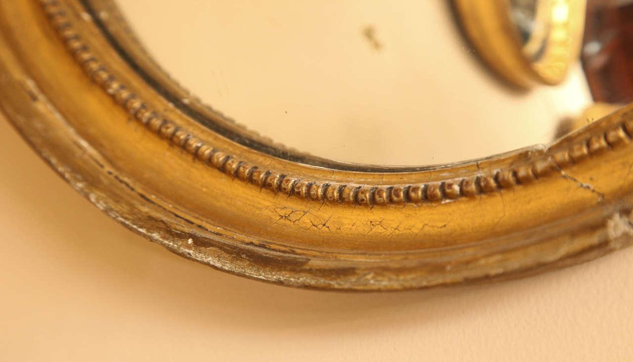 Late 19th Century English Convex Mirror For Sale 4
