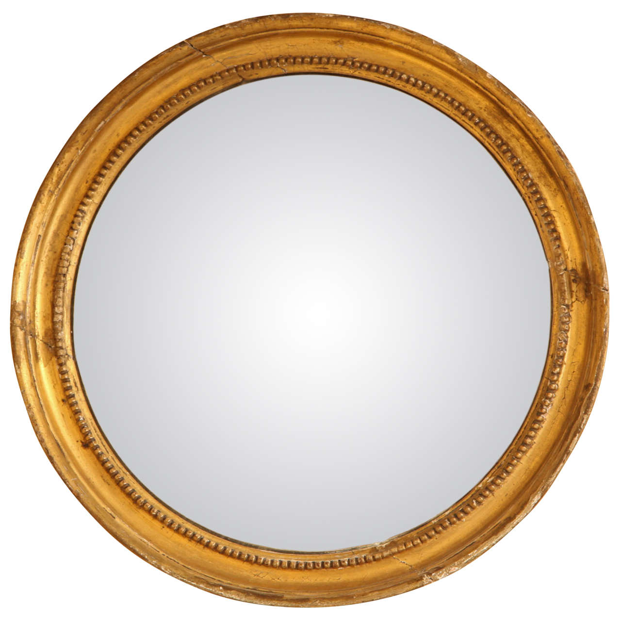 Late 19th Century English Convex Mirror