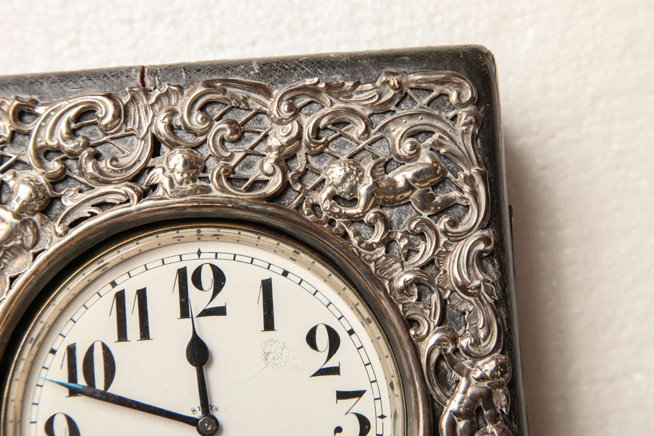 Late 19th Century Traveling Clock For Sale 2