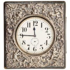 Late 19th Century Traveling Clock