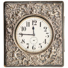Late 19th Century Traveling Clock
