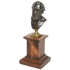 Rare Bronze Portrait Bust of Henri IV after Model by Barthelemy Prieur, c. 1800