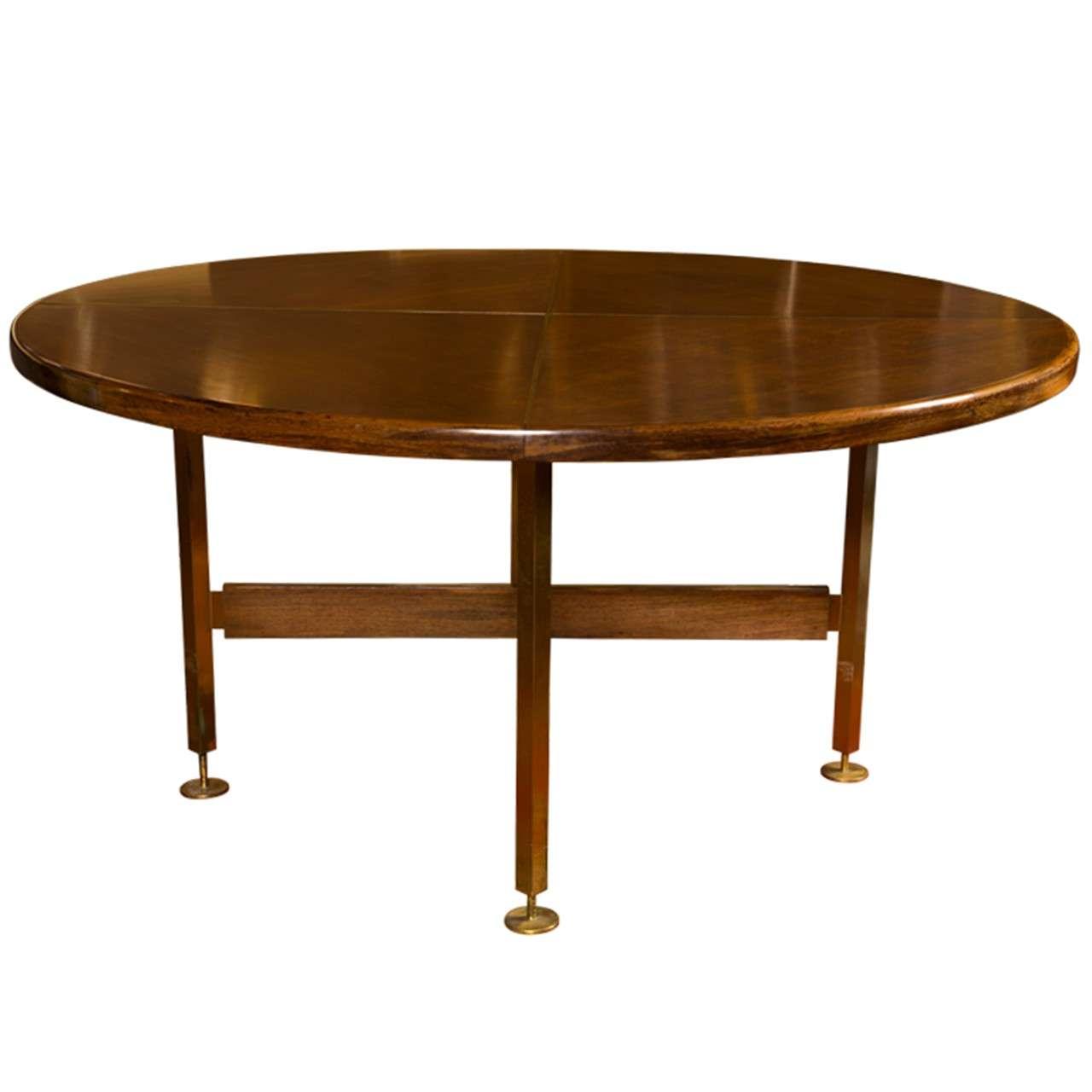 Paul McCobb Circular Dining Table At 1stdibs
