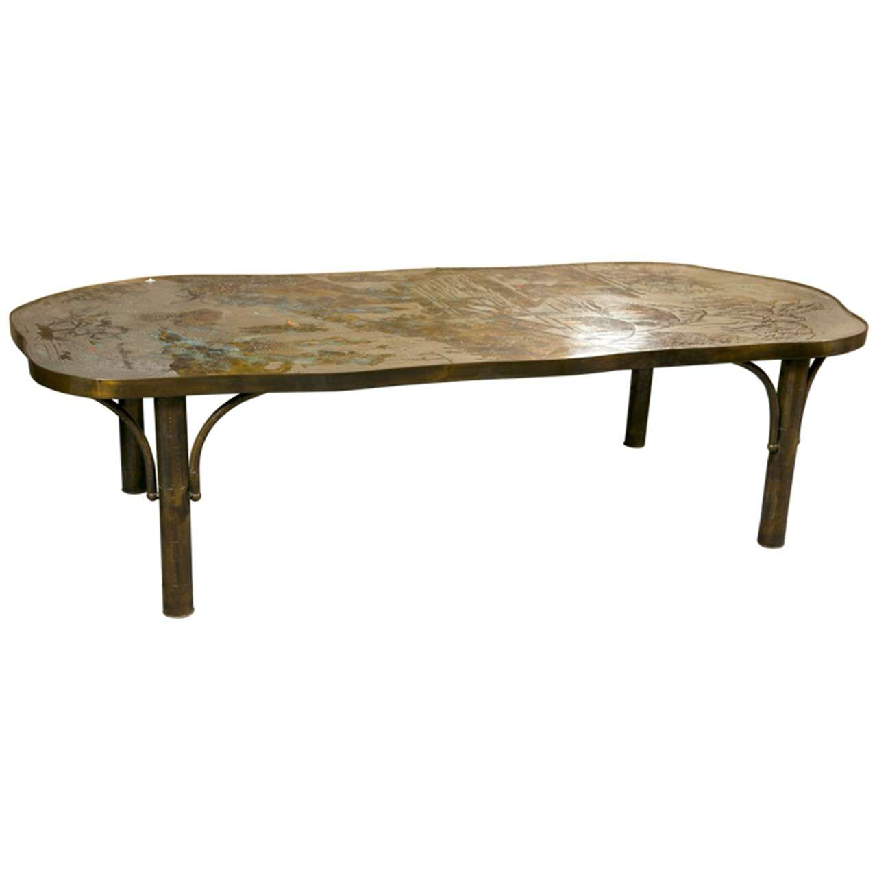 Chinoiserie Style Cocktail Table By Philip And Kelvin Laverne At 1stdibs