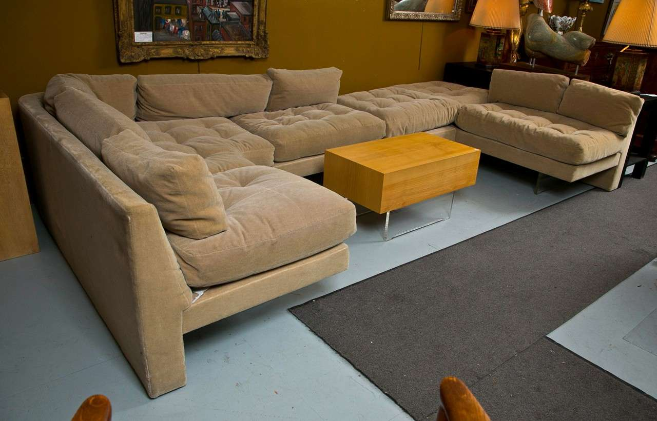 Https Www 1stdibs Com Furniture Seating Sofas Mid Century Vladmimir Kagan Sectional Sofa Coffee Table Set Id F 776931