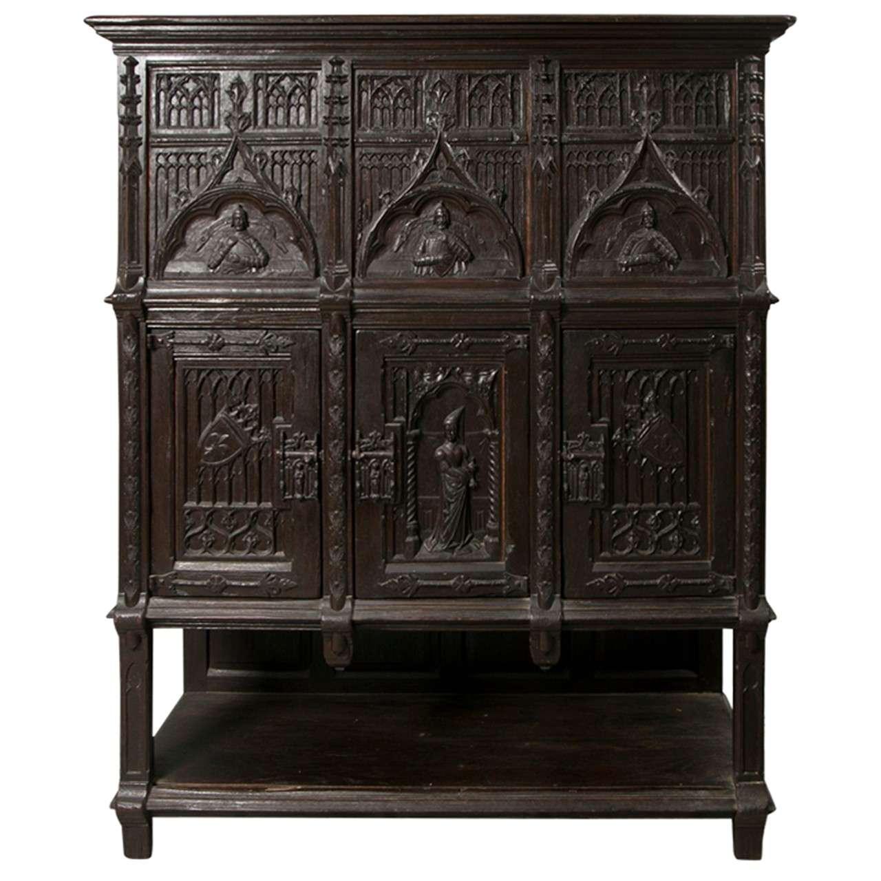 Gothic Cabinet Bedroom Sets