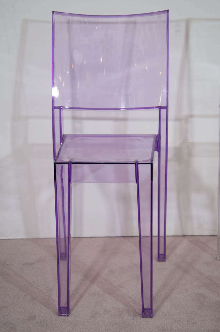 Pair of philippe starck la marie chairs for sale at 1stdibs for Chaise la marie starck