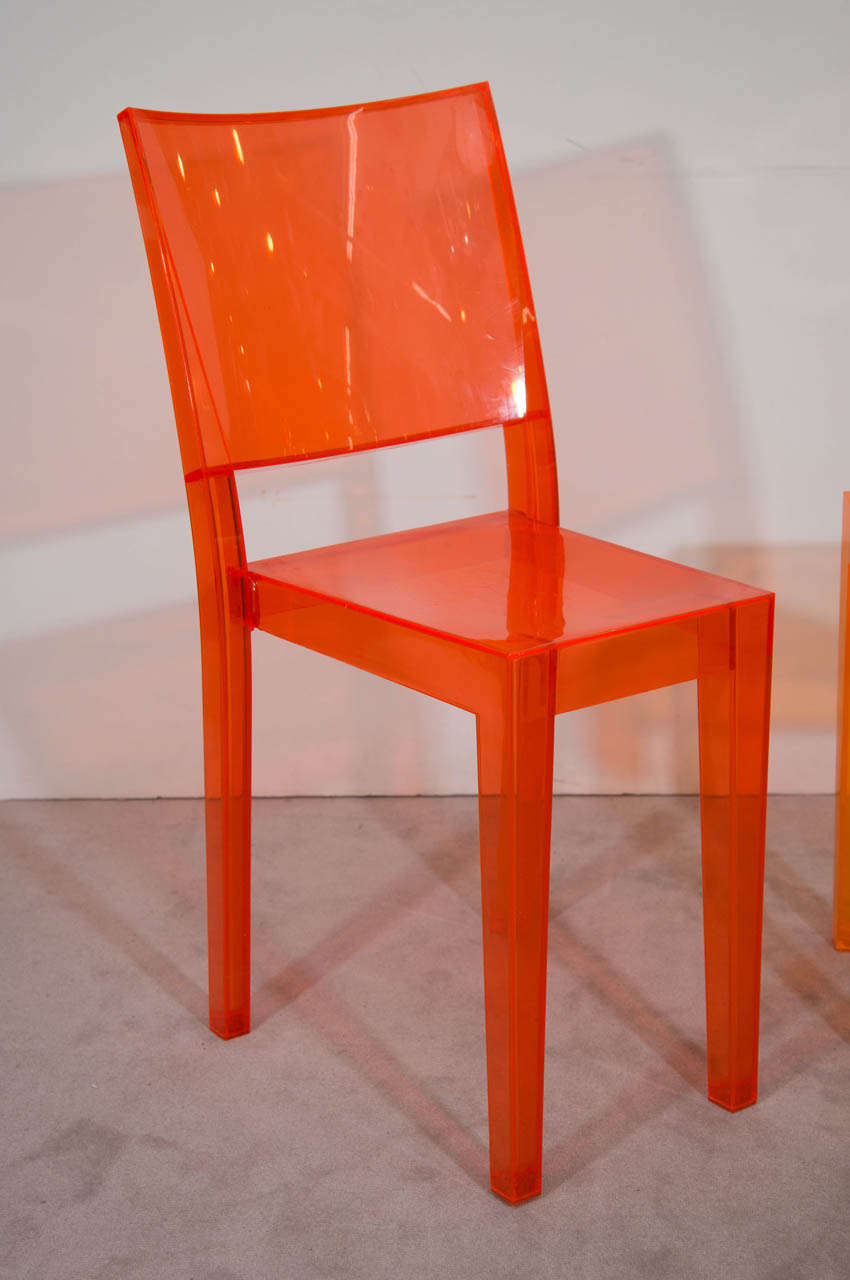A set of five philippe starck la marie chairs at 1stdibs for Chaise la marie starck
