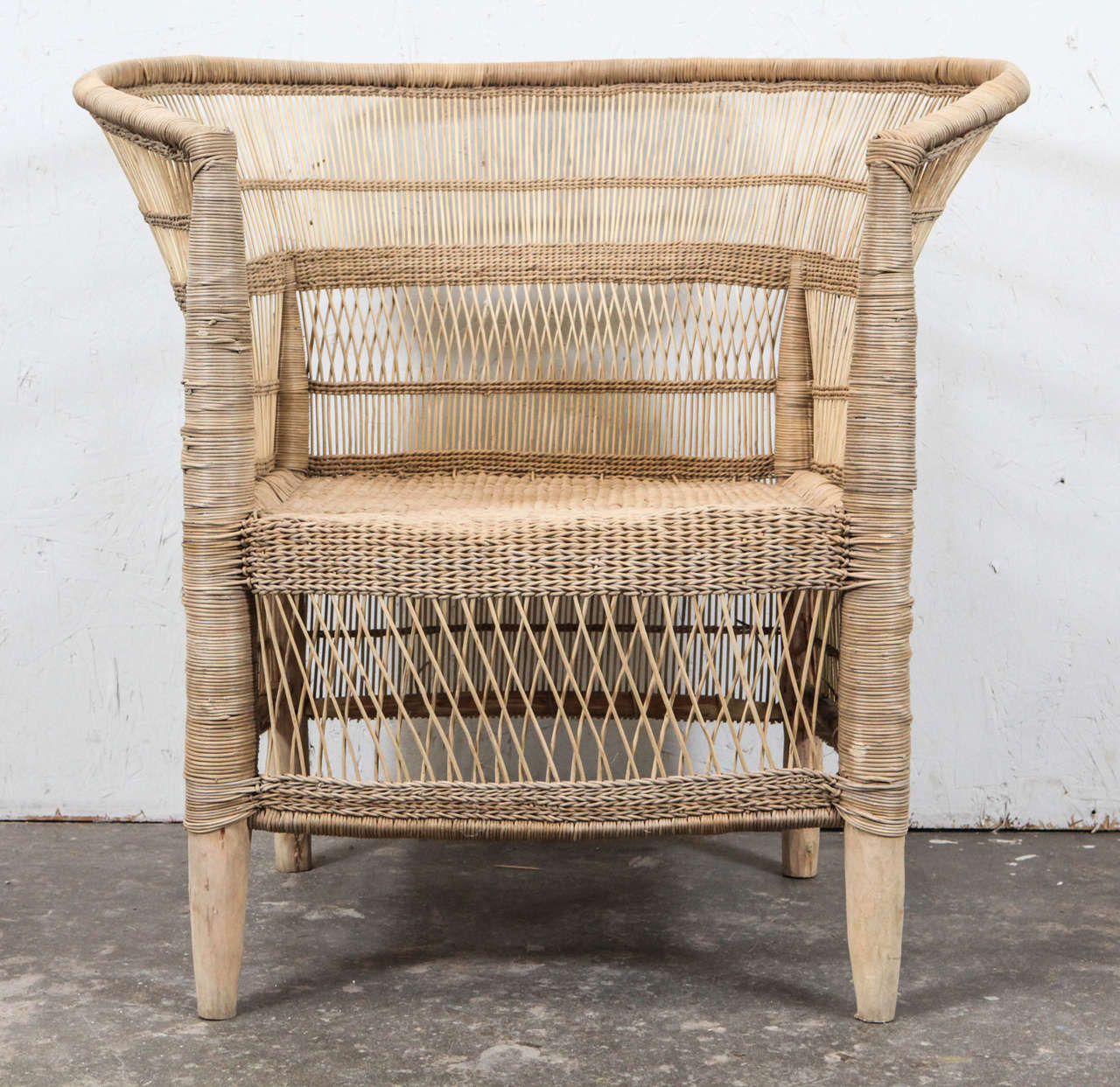 African Garden Furniture South african wicker armchair at 1stdibs handmade wicker throne armchair from south africa items are new but made workwithnaturefo