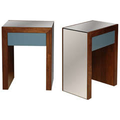 Mirrored Parkman Nightstand by Lawson-Fenning