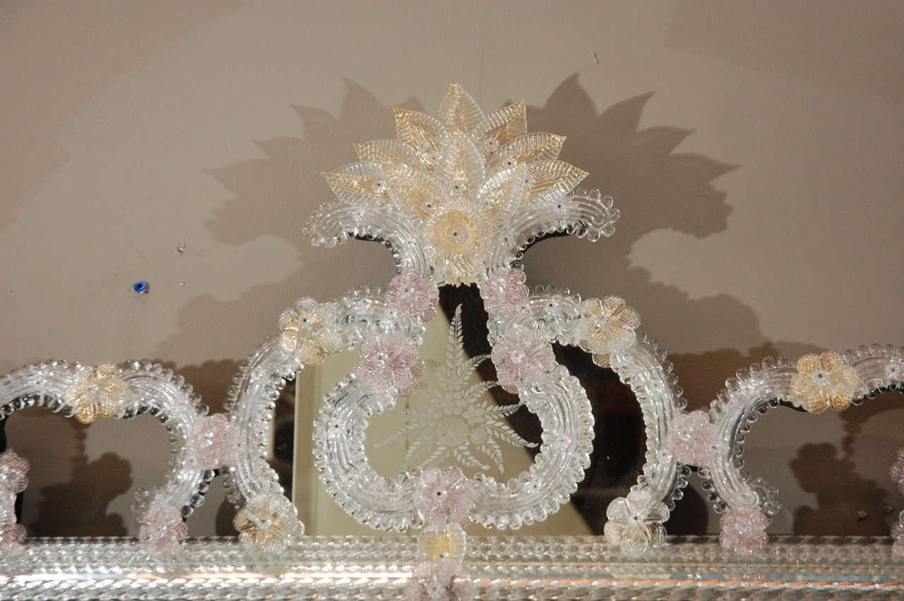 Italian Delicate Venetian Mirror