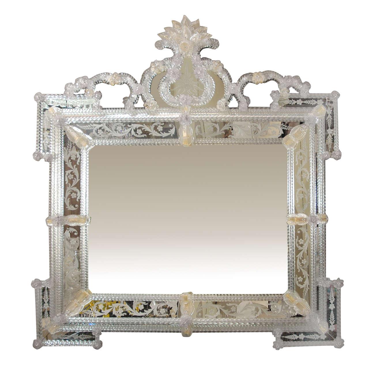 Delicate Venetian Mirror