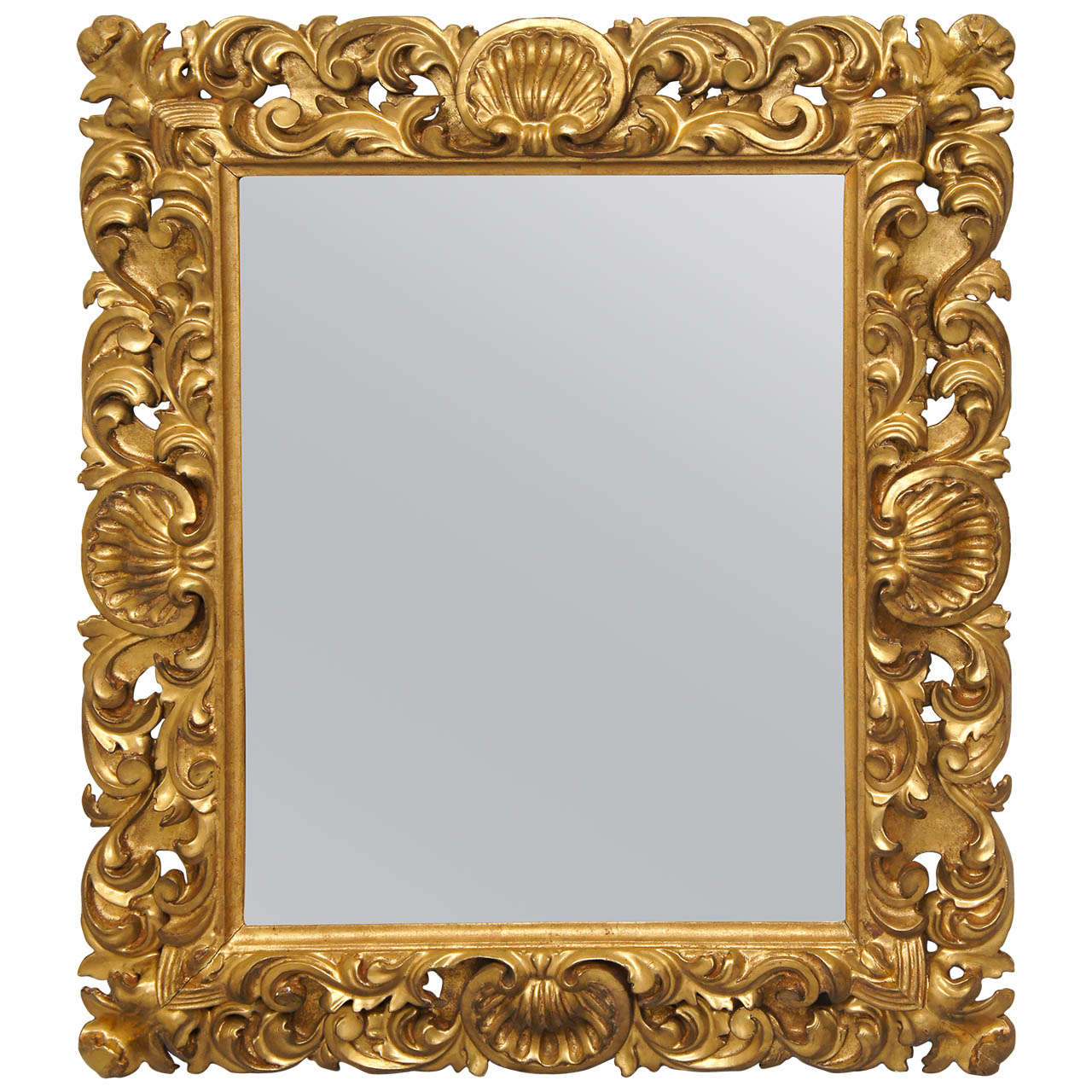 florentine carved gilt wood mirror frame at 1stdibs - Mirror Frame