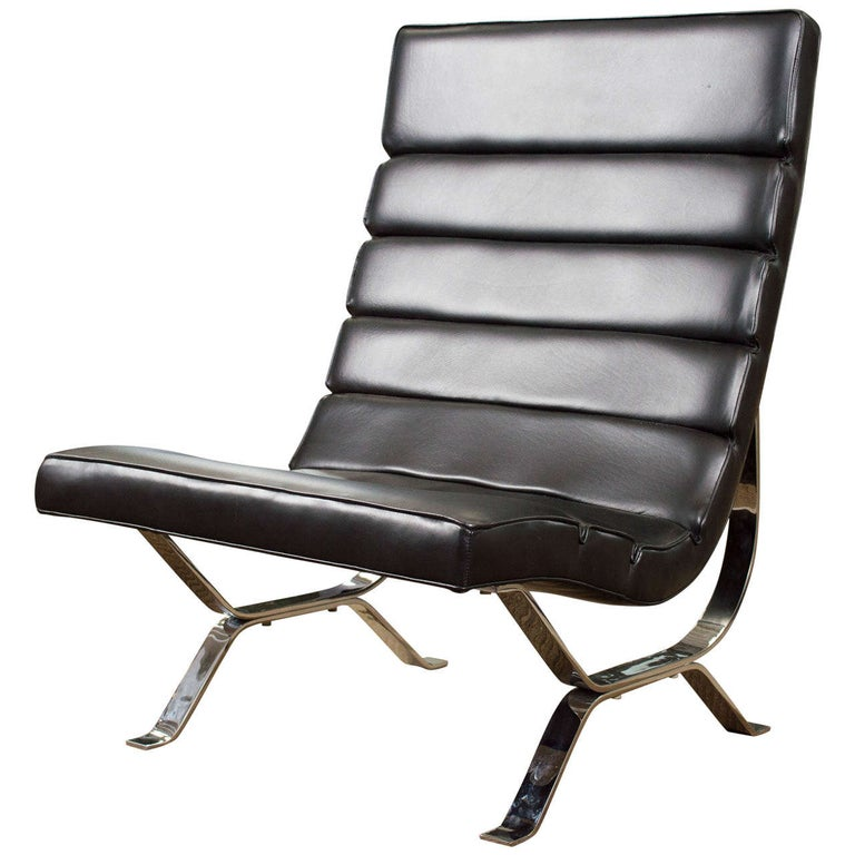 George Nelson Rare High Back Chair For Sale