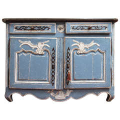 19th Century  Painted Buffet